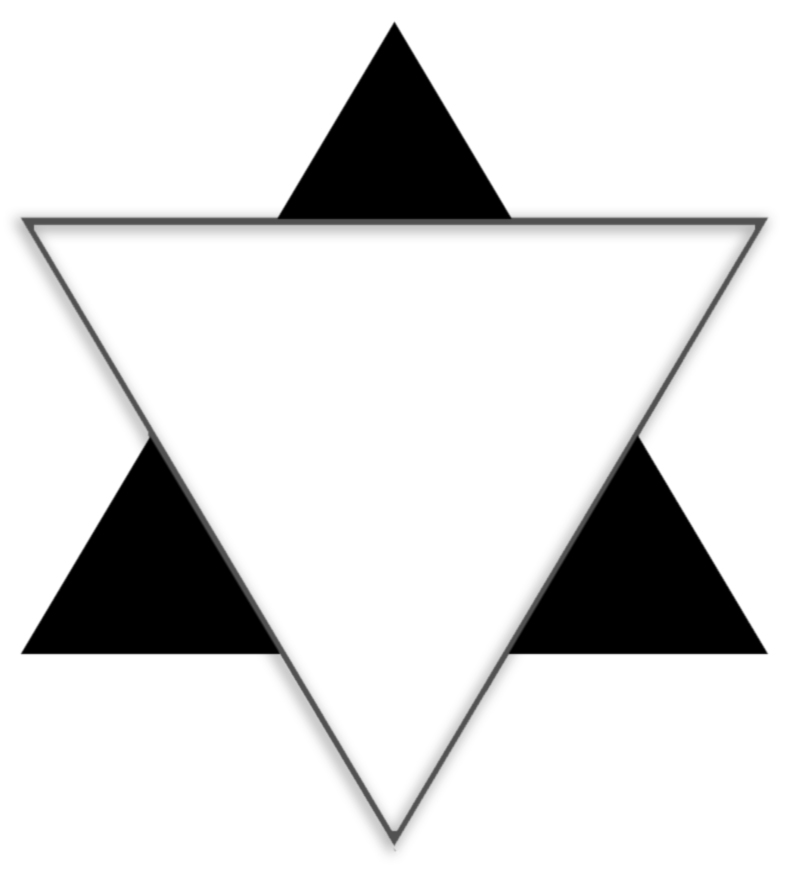 Ancient symbol of the supremacy of the spiritual word