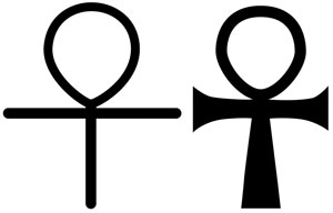 The ankh cross