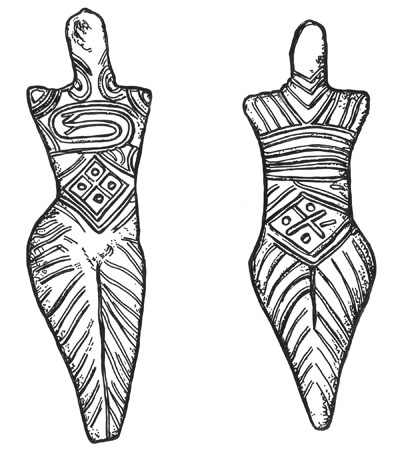 Goddesses in Tripolye culture