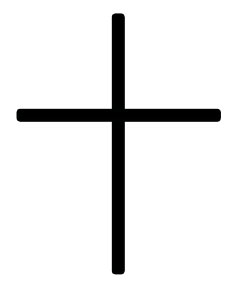 Long or Latin Cross