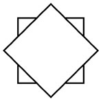 Variations of representation of the rhombus as a symbol of transformation and the spiritual liberation of man