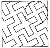 Direct and reverse swastika